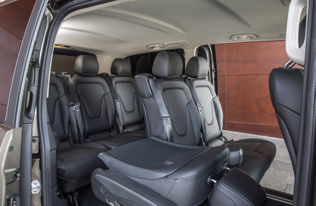 Mercedes V Class 8 Pax Limousine Italy