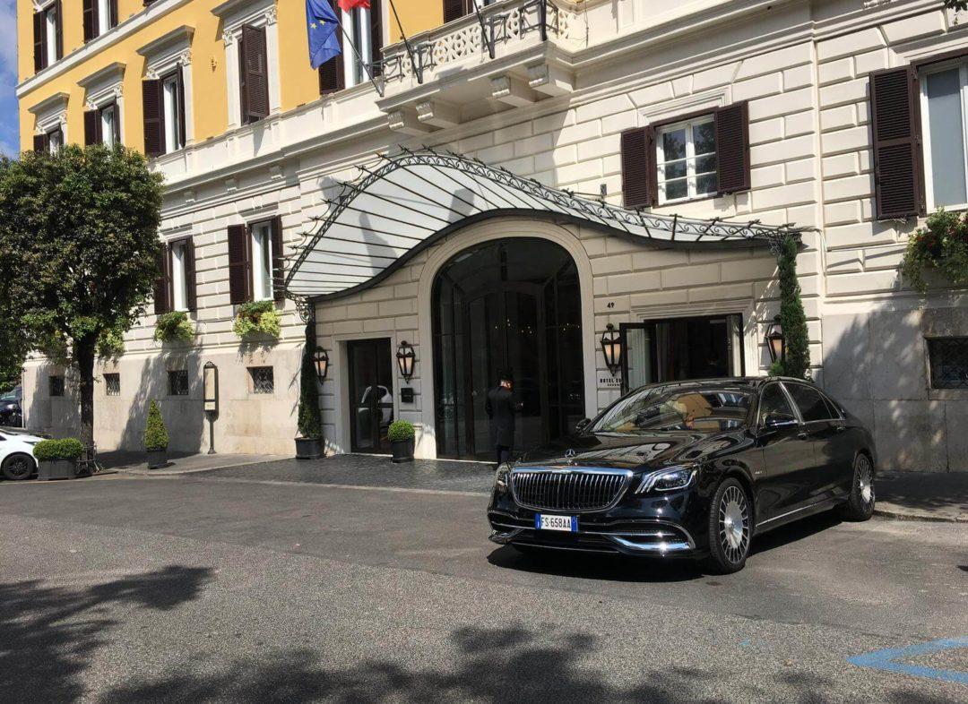 limousine italy service mercedes